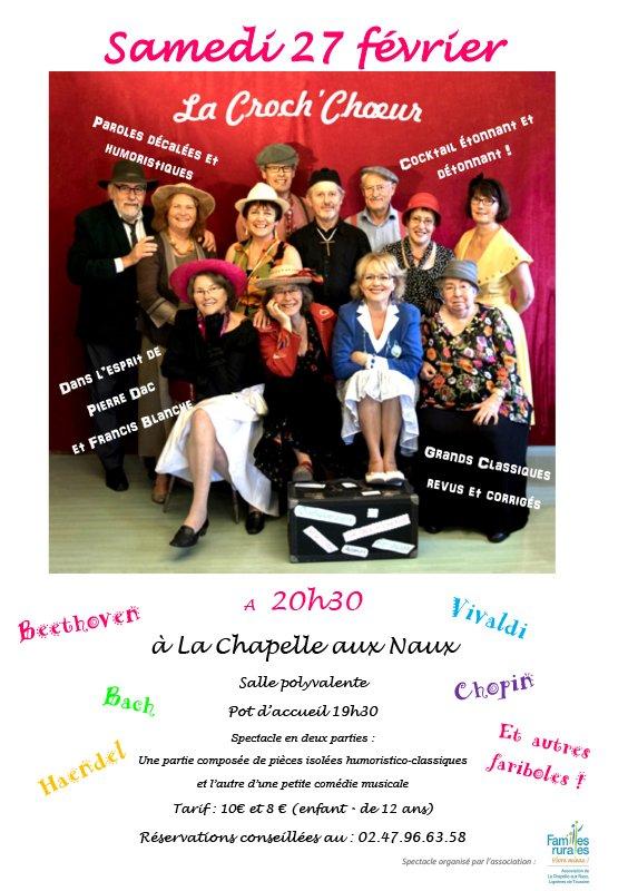 Affiche Concert de la Croch'Choeur