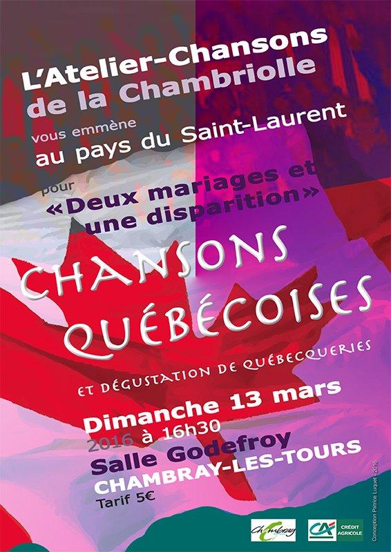 Concert de L'Atelier-Chansons du 13 mars 2016