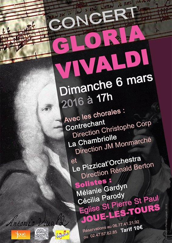 Affiche Concert Vivaldi