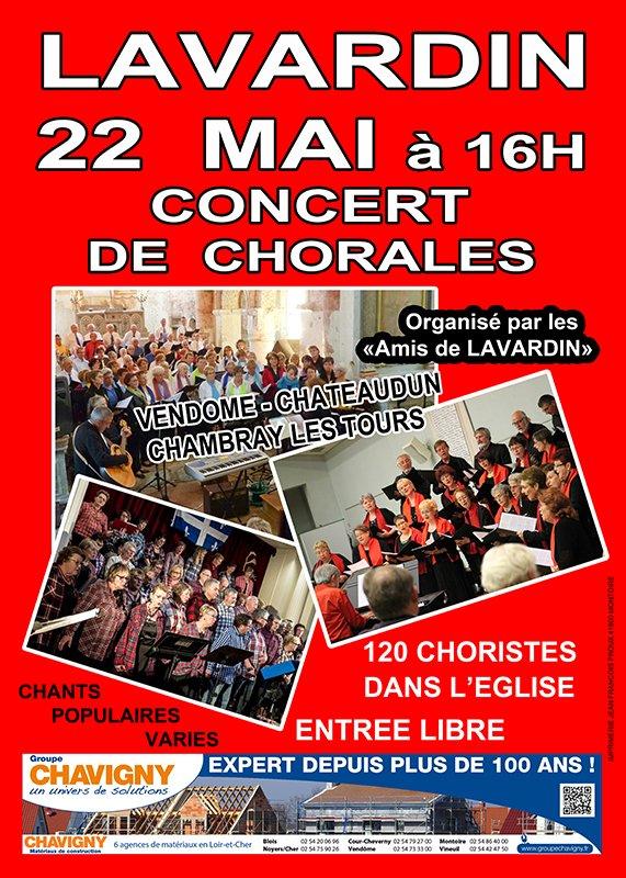 Concert de Lavardin du 22 Mai 2016