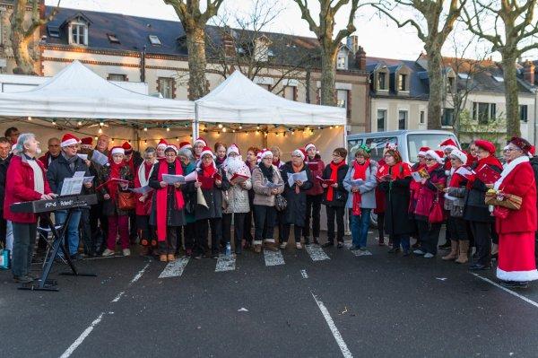 Place Strasbourg à Tours le 10/12/2016