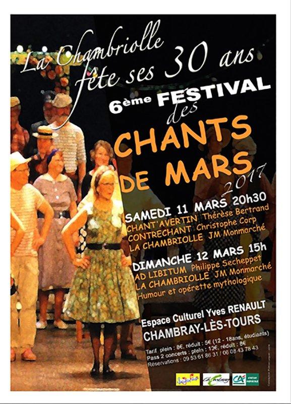 Affiche pour les Chants de Mars