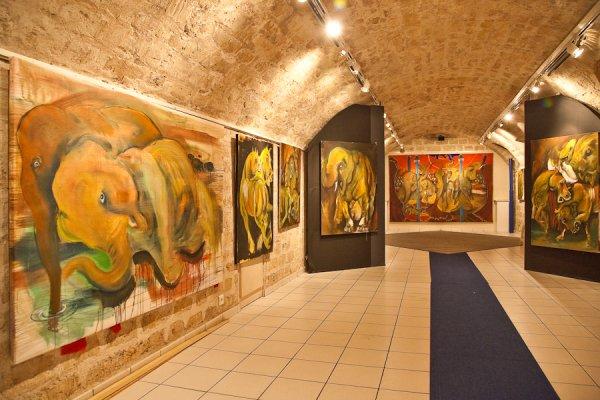Z Circus, la rencontre du cirque, de l'artisanat et de l'art contemporain.