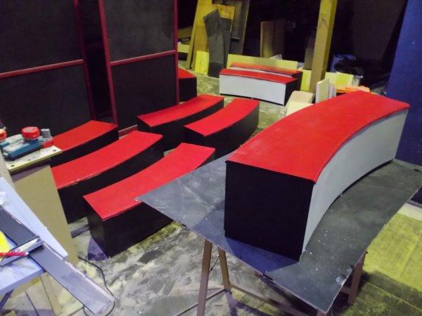Fabrication de la nouvelle piste du K Circus (Partie 2)