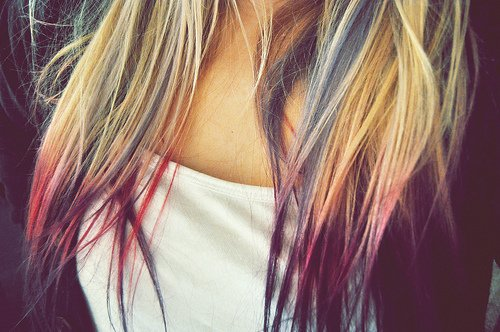 Conseils CHEVEUX : TIE AND DYE