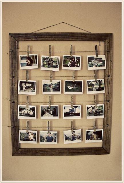 DIY : CADRE PHOTOS