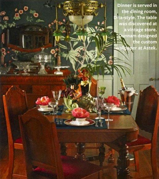 La maison de Dita par Us magazine