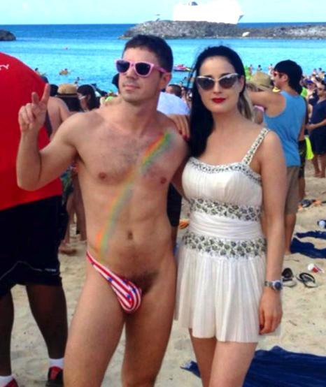 Dita avec Jake Shears