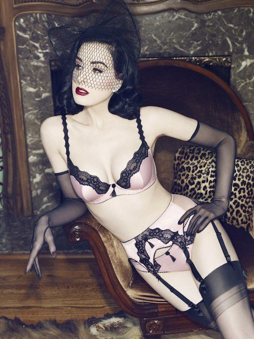 Une nouvelle collection de lingerie
