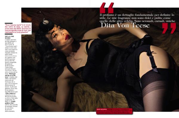 Pour Vogue en Italie