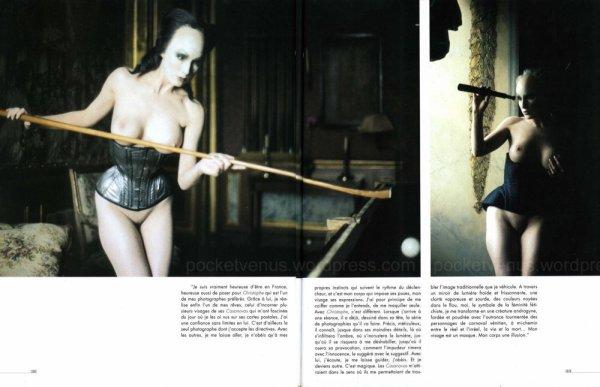 Article extrait du magazine fétichiste Taboo de 2000