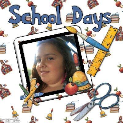 ******************Voila,manon a fait sa rentree des classes ,tout ses bien passer*********