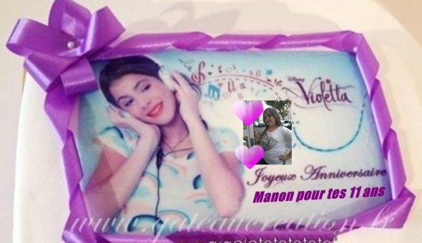 **************Joyeux anniversaire ma princesse manon*********