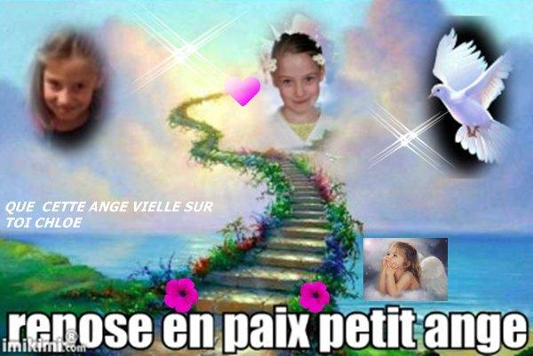 ****Hommage a chloé repose en paix petit ange**************