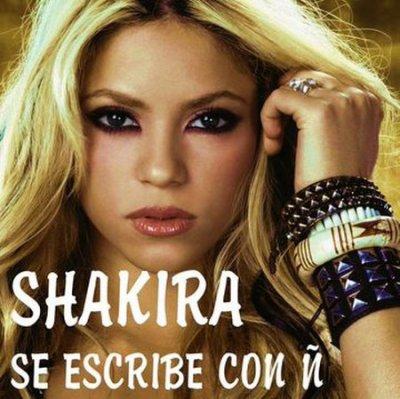 Shakira tu mérite