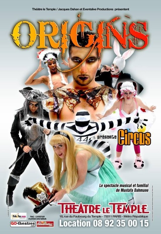 ORIGINS, le spectacle Circus à Paris !