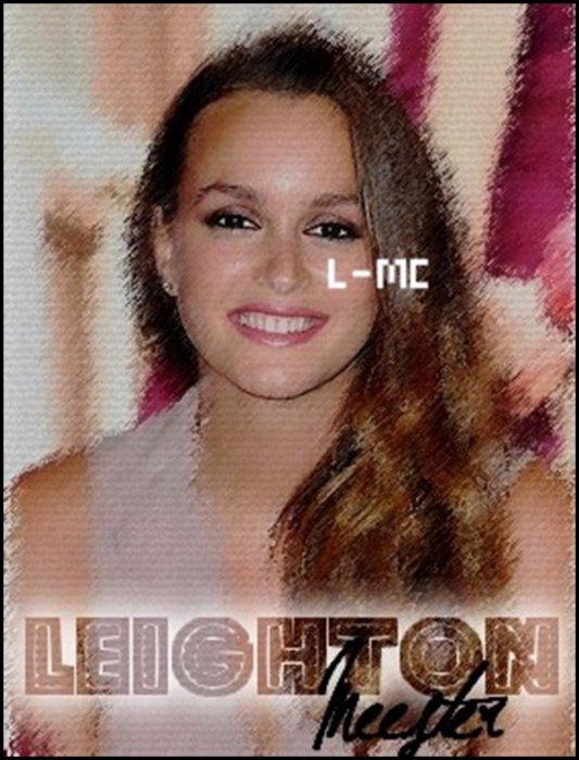 ♠ Suis l'actu' de la Magnifique Leighton Mesteer !