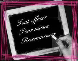 RECOMMENCER!!