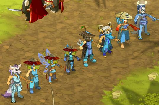 Le donjon Pandikaze et son boss le Maître Pandore !