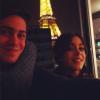 Avec son frère a Paris!♥♥♥#candice