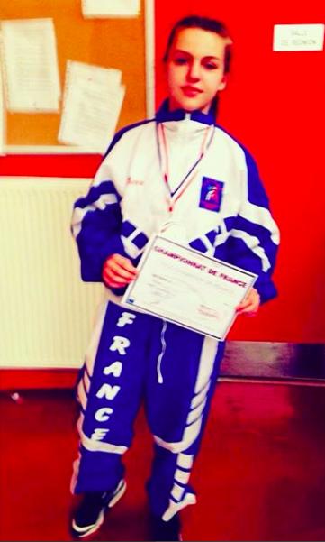 Vice championne de France 2017