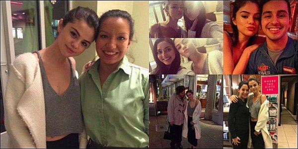 . • Découvrez quelque photos récemment prises de Selena et des fans, à Dallas (Texas) !   .