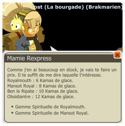 Mansot et Kamas des Glaces ! =P
