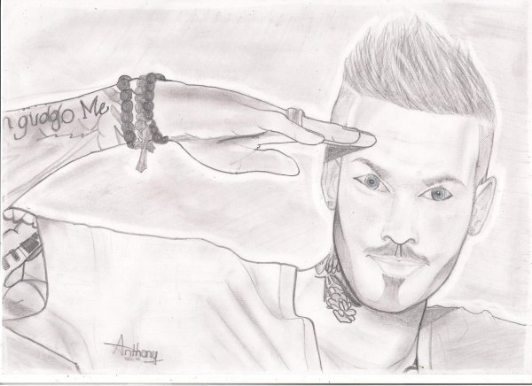 Mes dessins de M.Pokora