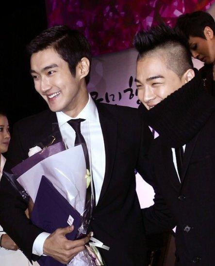 Siwon et Taeyang
