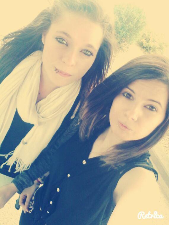 Avec ma meilleure amie ❤