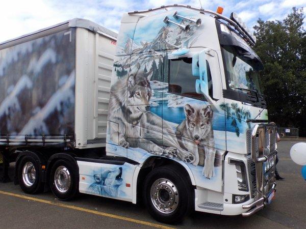 le mans camions 2017 07 un joli volvo 30 ans de maquettes de camions d cor. Black Bedroom Furniture Sets. Home Design Ideas