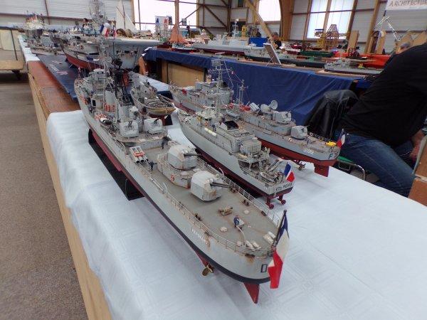 DINAN 2018 !!! 11 !! bateaux militaire !!