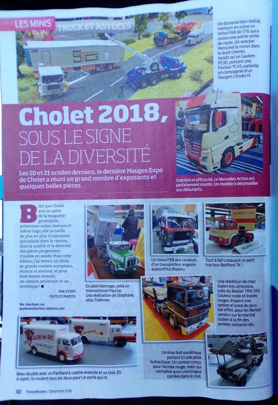 cholet 2018 !! 29 !! France routes décembre 2018 !!!