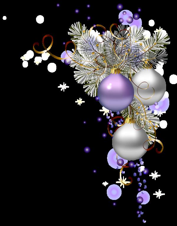 Bonne f te de fin d 39 ann e avec des cr ations de danie du for Decoration fete de fin d annee