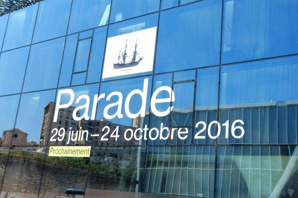 Parade des bateaux  à Marseille