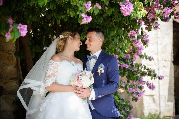 20 juillet mariage de notre petite fille et de Maxime ( Photos Magali Deschamps )