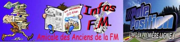 Différentes INFOS de la FM