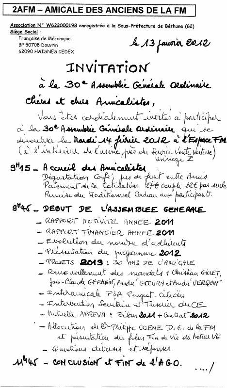 Documents AG 2012