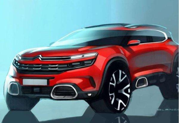 Citroën C5 Aircross : le nouveau SUV aux Chevrons, une technologie de suspension inédite
