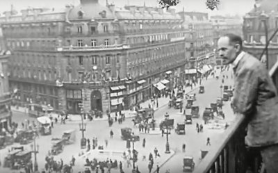 VIDÉO D'UNE QUALITÉ EXCEPTIONNELLE DE PARIS EN 1920