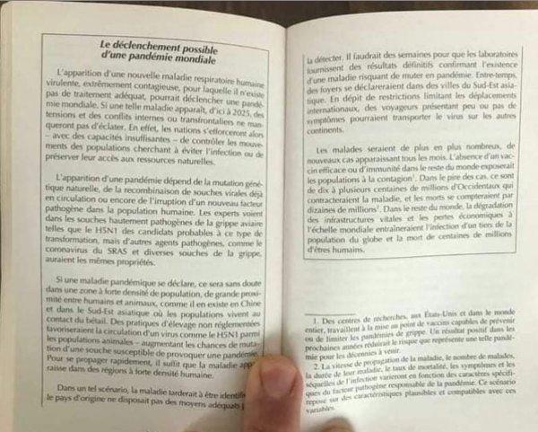 2 pages d'un livre édité en 2005