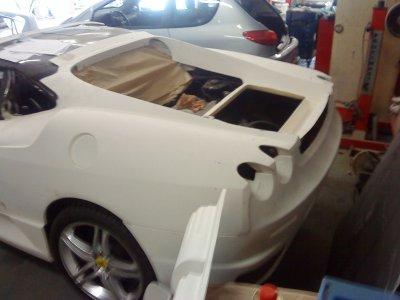 Preparation Sur Ma Nouvelle Replique Ferrari F430 Sur Base Toyota