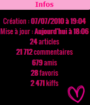 ✜ Article 01 : Bienvenue ღ *.