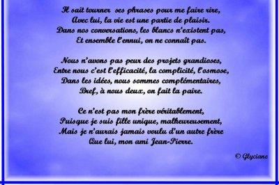 Poeme Pour Mon Frere Blog De Maeva 02120