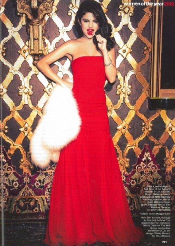 le photoshoot de selena pour le mag Glamour