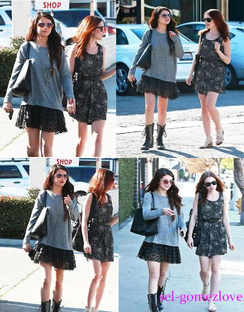 Selena allait dîner avec Lily Collins