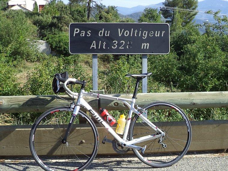 Tour de vélo Toulourenc