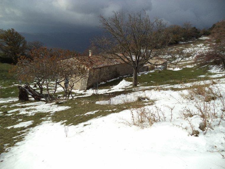 Rando ferme de la Lance avec la neige  (2)