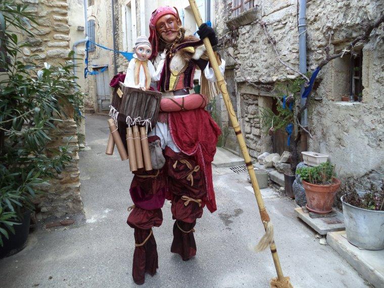 Marché de noël médiéval de Taulignan