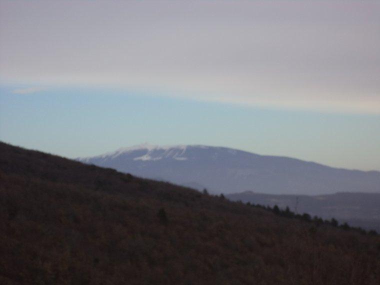 Randonnée au col de la Croix, Taulignan